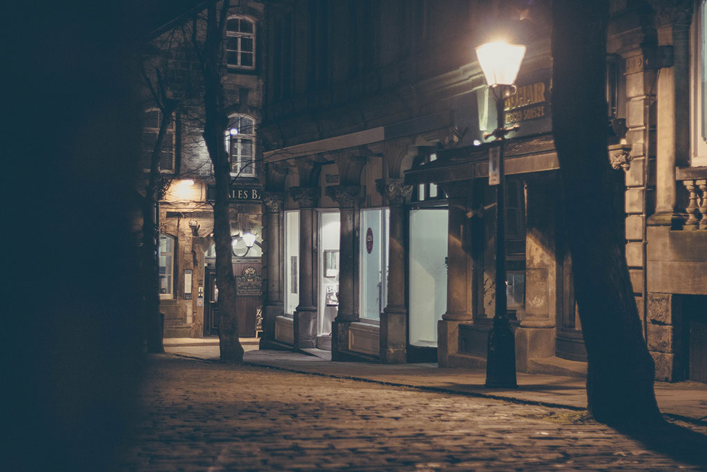 Harrogate at night, photography – Yorkshire (2016)